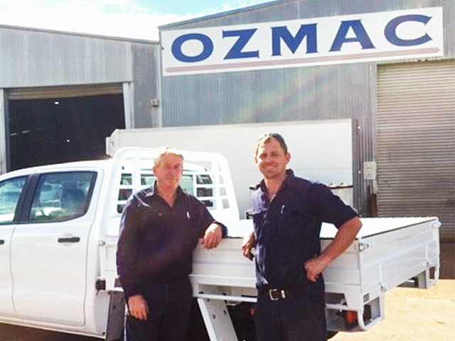 Dennis Hayes & John Fry of Ozmac Welding Industries